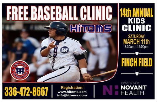 HiToms/Novant Baseball Clinic