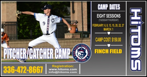 Pitcher Camp Set for February