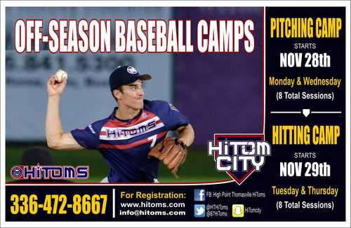 Off-Season Camps Scheduled