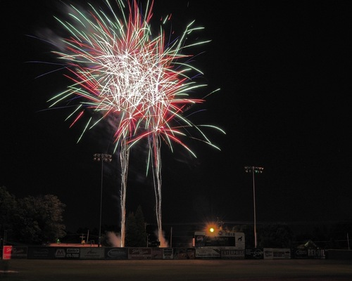 Fireworks Continue Friday Night @ Finch Field